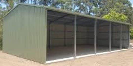 Open Front Farm Sheds